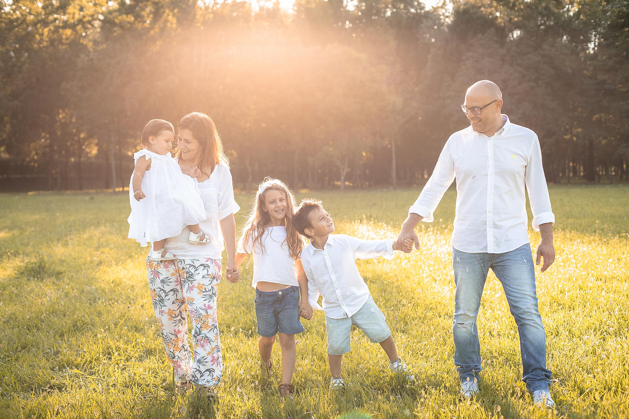 masi stefania foto famiglia varese