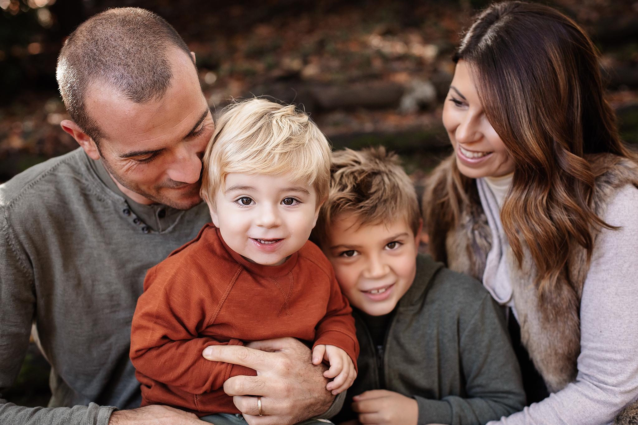 sessione fotografica family